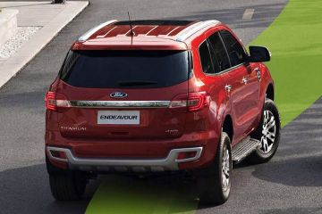 Ford Endeavour Rear Right Side