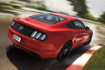Ford Mustang Rear Right Side