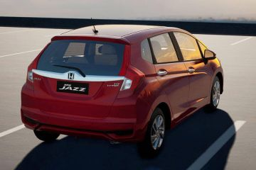 Honda Jazz Rear Right Side