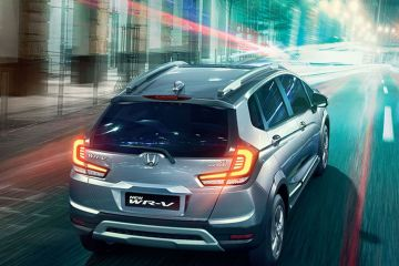 Honda WR-V Rear Right Side