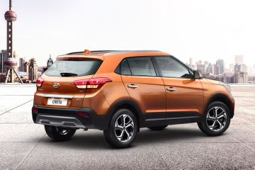 Hyundai Creta Rear Right Side