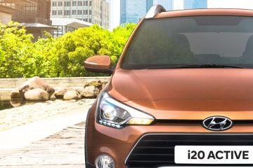 Hyundai i20 Active Headlight