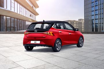 Hyundai i20 Rear Right Side