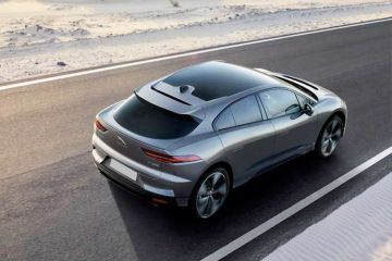 Jaguar I-Pace Rear Right Side