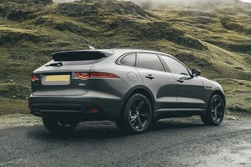 Jaguar F-PACE Rear Right Side