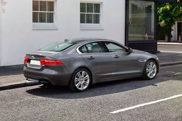 Jaguar XE Rear Right Side