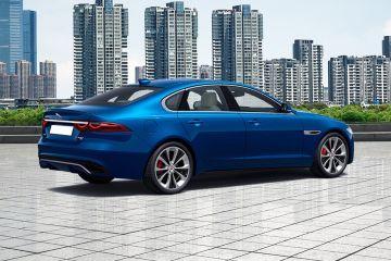 Jaguar XF Rear Right Side