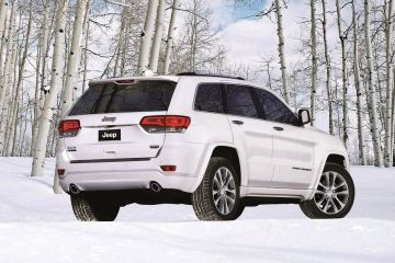 Jeep Grand Cherokee Rear Right Side