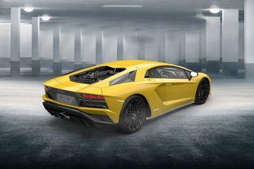 Lamborghini Aventador Rear Right Side