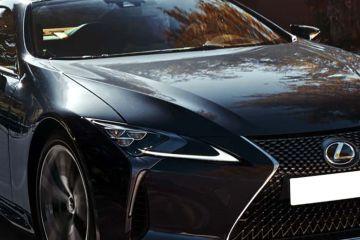 Lexus LC 500h Headlight