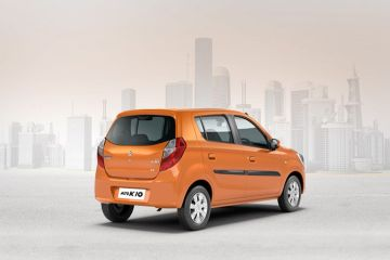 Maruti Alto K10 Rear Right Side
