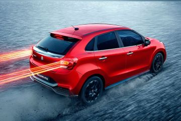 Maruti Baleno RS Rear Right Side