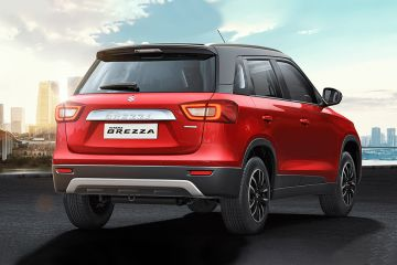 Maruti Vitara Brezza Rear Right Side