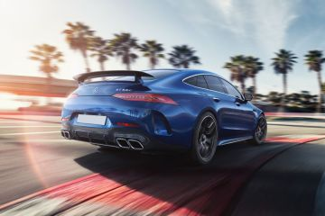 Mercedes-Benz AMG GT 4-Door Coupe Rear Right Side