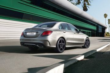 Mercedes-Benz C-Class Rear Right Side