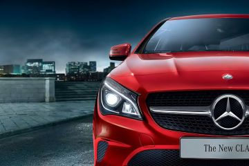 Mercedes-Benz CLA Headlight