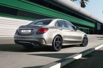 Mercedes-Benz C-Class Rear Right Side