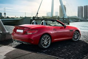 Mercedes-Benz SLC Rear Right Side
