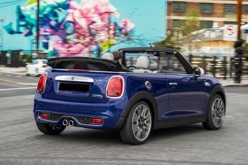 Mini Cooper Convertible Rear Right Side