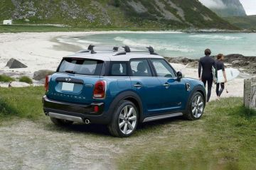 Mini Countryman Rear Right Side