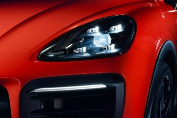 Porsche Cayenne Coupe Headlight
