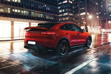 Porsche Cayenne Coupe Rear Right Side