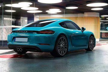 Porsche 718 Rear Right Side