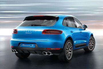 Porsche Macan Rear Right Side