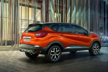 Renault Captur Rear Right Side