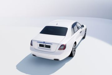 Rolls-Royce Ghost Rear Right Side