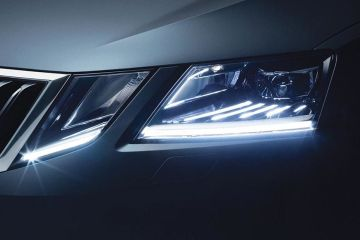 Skoda Octavia Headlight