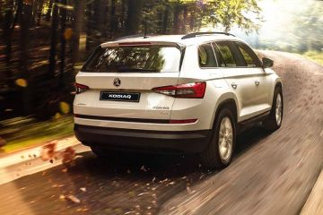 Skoda Kodiaq Rear Right Side