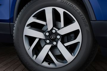 Tata Safari Wheel