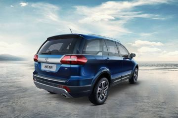 Tata Hexa Rear Right Side