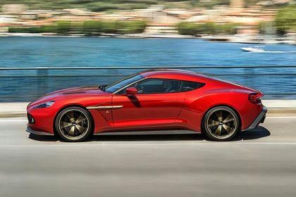Aston Martin Zagato Side View (Left)  Image