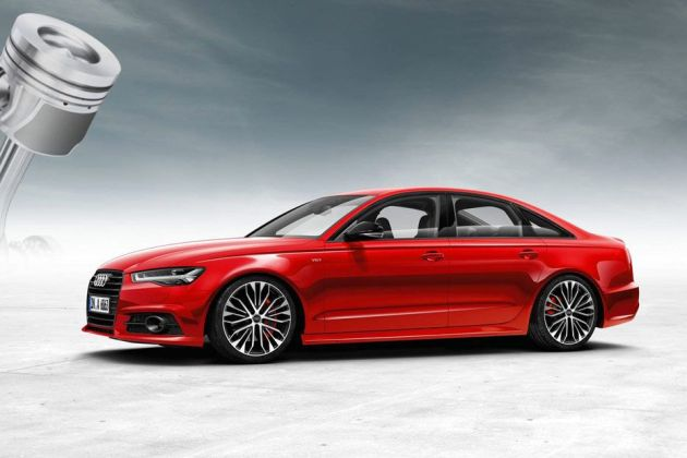 Audi A6 Side View (Left)  Image