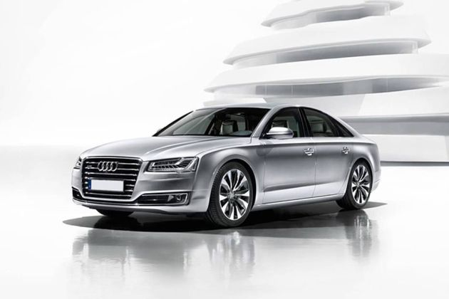 Audi A8 Front Left Side Image