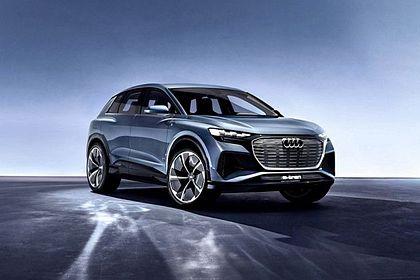 Audi Q4 Front Left Side Image