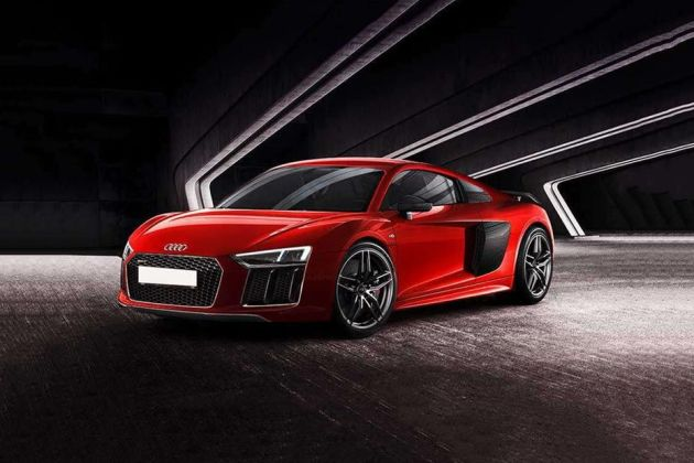 Audi R8 Front Left Side Image