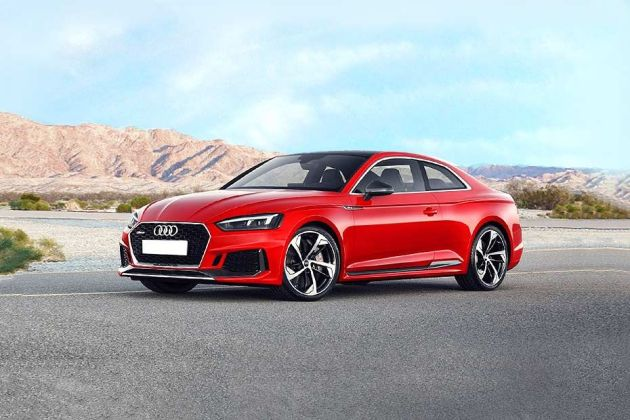 Audi RS5 Front Left Side Image