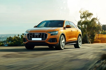 Audi Q8 Front Left Side Image