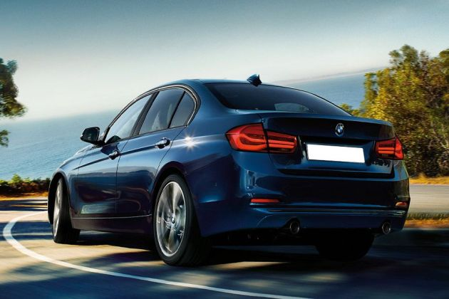 BMW 3 Series Rear Left View Image