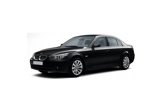 BMW 5 Series 2007-2010 Front Left Side Image