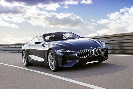 BMW 8 Series Front Left Side Image