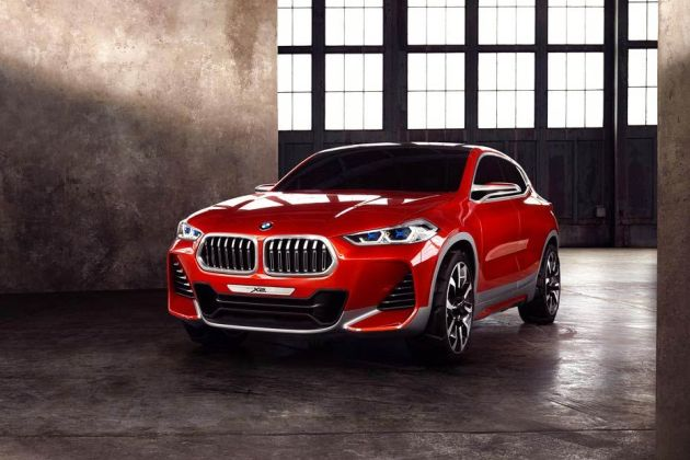 BMW X2 Front Left Side Image