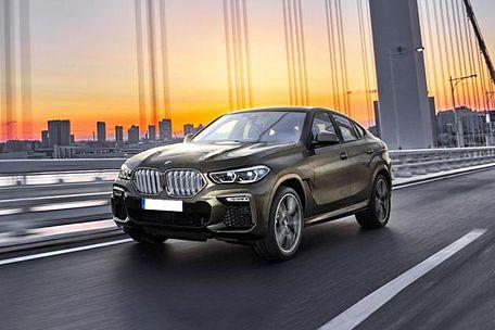 BMW X6 2020 Front Left Side Image