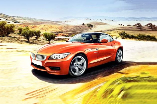 BMW Z4 Front Left Side Image