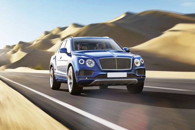 Bentley Bentayga Front Left Side Image