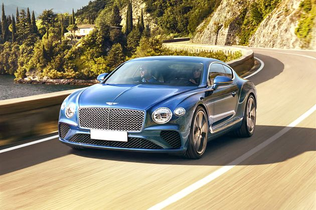 Bentley Continental Front Left Side Image