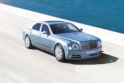 Bentley Mulsanne Front Left Side Image